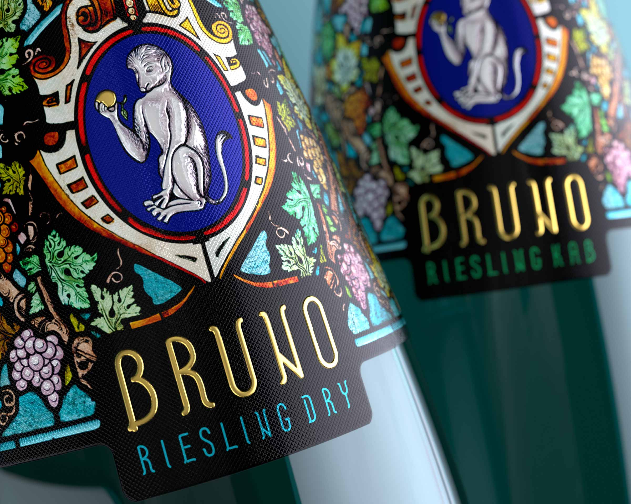 Bruno by Karthäuserhof Rieling Dry and Kab